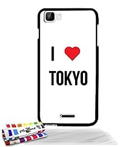 Carcasa muy fino original de MUZZANO el modelo I LOVE TOKYO para WIKO KITE 4 g