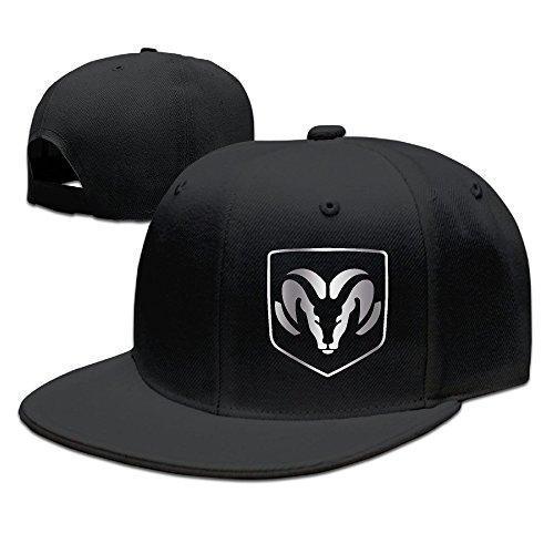 dodge-ram-logo-1-platinum-style-baseball-snapback-cap-black
