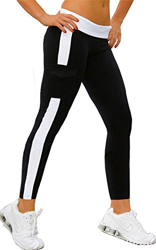 4How Women's Capri Ankle Length Leggings