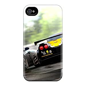 Mobilephonecustomcases Iphone 4/4s Hybrid Tpu Cases Covers Silicon Bumper Real Racing 2
