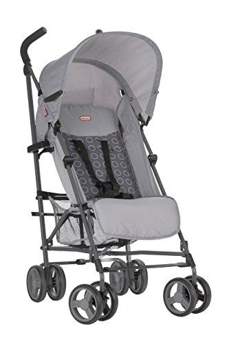 Little Tikes Stroll N' Go Lightweight Stroller with Umbrella Fold, Grey
