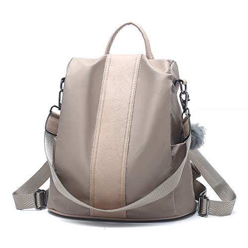 Women Backpack,Waterproof Nylon Bags Anti-theft Casual Dayback Shoulder Bags