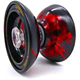 Stylezit Beast Fire Yoyo Ball Smooth Spin Red -Made With Dicast Metal Unresponsive