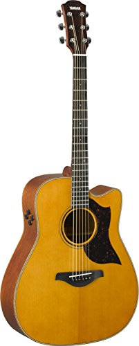 Yamaha A-Series A3M Acoustic-Electric Guitar with Soft Case, Vintage...
