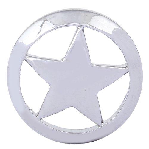 Morella–Bouton Pression étoile argent