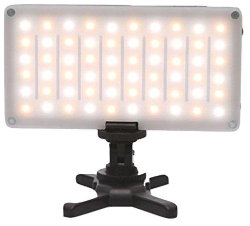 Camera Light Fixture: On Camera Bi-Color Dimmable LED Pocket Light Fixture DSLR