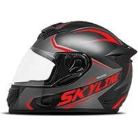 Capacete Mixs MX2 Skyline 62 Vermelho