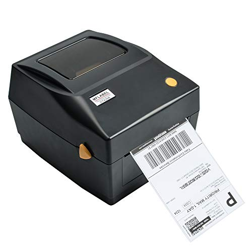 MFLABEL Label Printer, 4x6 Thermal Printer, Commercial Direct Thermal High Speed USB Port Label Maker Machine, Etsy, Ebay, Amazon Barcode Express Label Printing ()