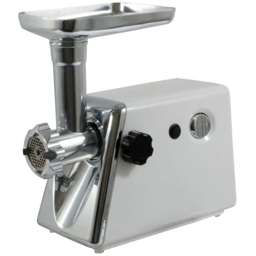 Sportsman MEG300 3/4HP 350W Electric Meat Grinder with 3 Cutting Plates (Fine, Medium, & Course Grind)