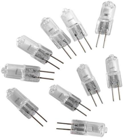 Ecloud Shop 10 X G4 Modelo Bombilla Lámpara Halógena 2 pin 12V 10W: Amazon.es: Electrónica