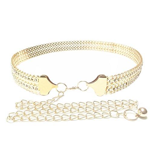 gold chain belt - 4