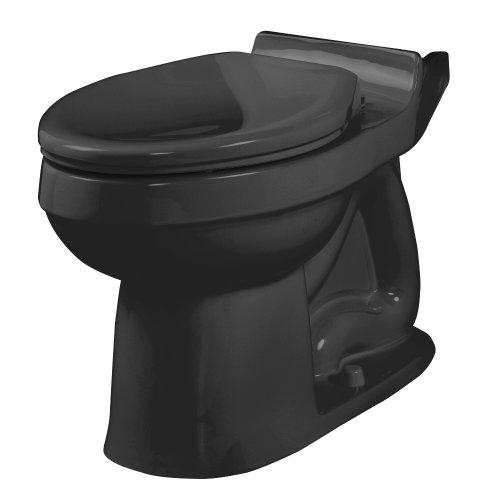 American Standard 3121.016.178 Champion Elongated Seatless Toilet Bowl, Black (Bowl (Elongated Black Bidet)