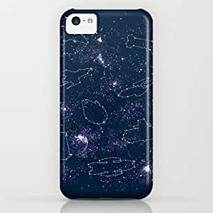 Society6 - Star Ships iPhone & iPod Case by Mandrie