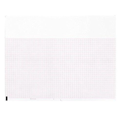 ECG EKG Paper Burdick 7983 Thermal Recording Sheets 3 Packs per ()