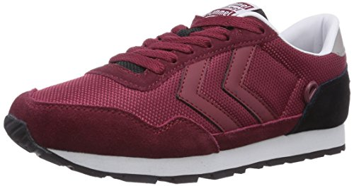 hummel REFLEX TONAL LO Unisex-Erwachsene Sneakers Rot (Cabernet 3661)