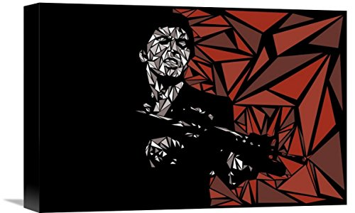 "Naxart Studio ""Scarface"" Giclee on canvas, 18"" by 1.5"" by 12"" from Naxart Studio"