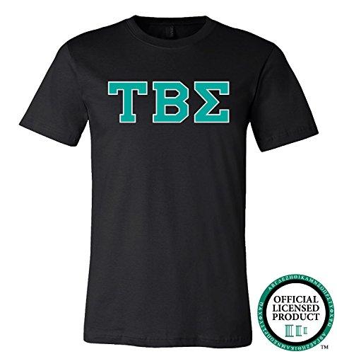 TAU BETA SIGMA | Turquoise Letters - Licensed Unisex T-shirt
