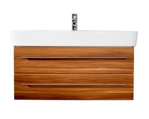 Badmöbel Keramag Renova Nr.1 100 cm walnuss seidenglanz