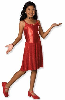 Deluxe Gabriella Costume - Large - Gabriella Dress Child Costumes