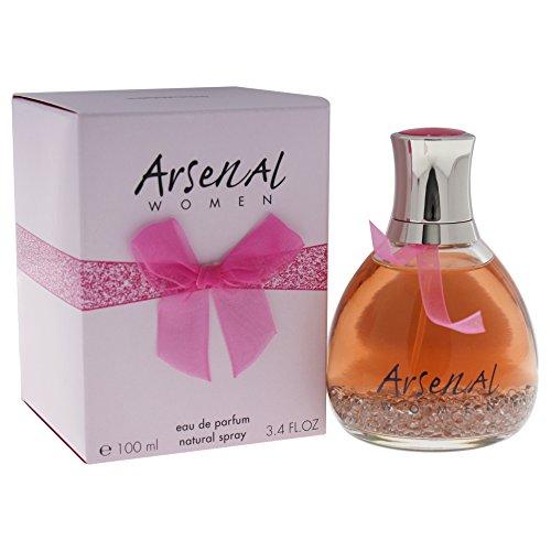 - Arsenal Pink By Gilles Cantuel For Women. Eau De Toilette Spray 3.4 Ounces