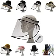Topless Wild Light Body PVC dustproof Sun hat Fisherman hat Unisex Suitable for All Kinds of Hats