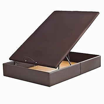 Canape Abatible Relax Polipiel Glam - Wengue, 135x182cm: Amazon.es: Hogar