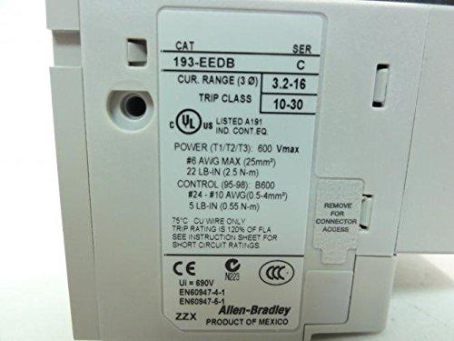 Allen Bradley 193-EEDB Solid State Overload Relay 3P 3.2-16A by Allen-Bradley (Image #2)