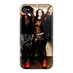 Great Hard Phone Case For Iphone 4/4s (VMA4115LjoE) Provide Private Custom Nice Lullacry Band Series