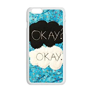 Malcolm The Fault in Our Stars Okay? Okay Printed Cell Phone Case for Iphone 6 Plus