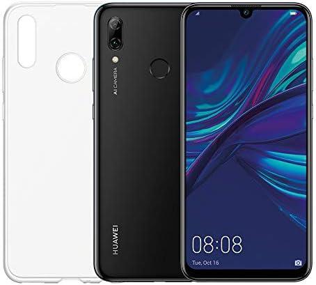 HUAWEI P smart 2019 e Cover Trasparente, Smartphone con 64 GB, Display 6.21″ Full HD+, Processore Octa Core Dinamico con Intelligenza Artificiale, Nero [Versione Italiana]