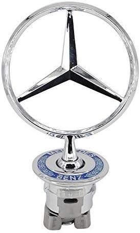 JDclubs 3D Emblem for Mercedes Benz Car Logo Front Hood Ornament ...