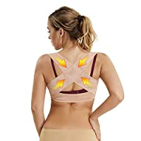 Chest Brace Up for Women Posture Corrector Shapewear Tops Breast Support Bra Top X Strap Bras