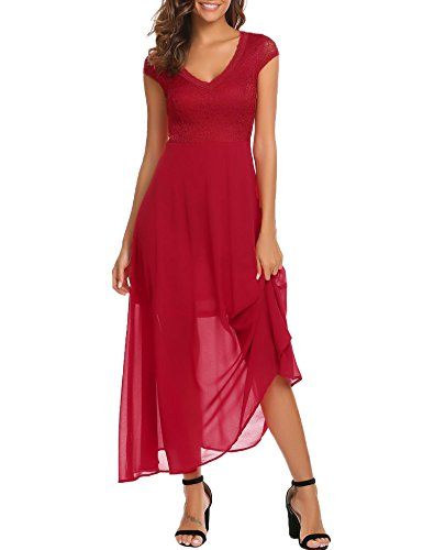 Bifast female springFloral Patchwork hem A line Dance Costume Below Knees dress