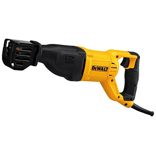 Corded Cordless Reciprocating Saw - DEWALT DWE305 12 Amp Corded Reciprocating Saw