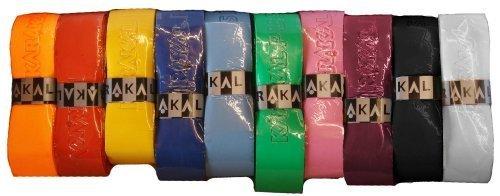 Karakal PU Supergrip replacement racquet grip - tennis / badminton / squash - Random Colour x 6