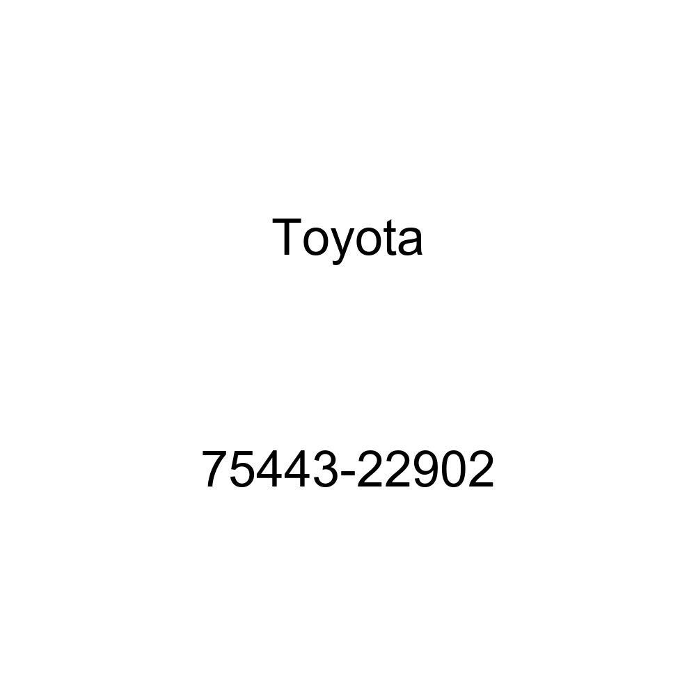 TOYOTA 75443-22902 Name Plate
