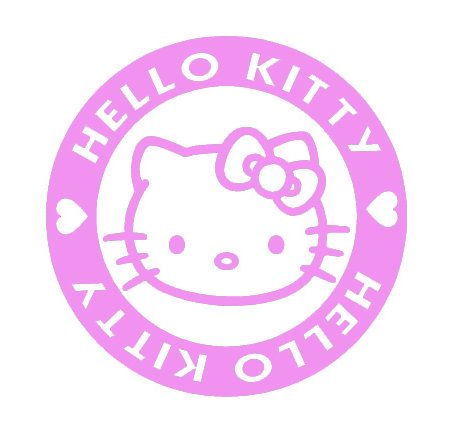 f15e17d208f544 Hello Kitty Decal Vinyl Sticker
