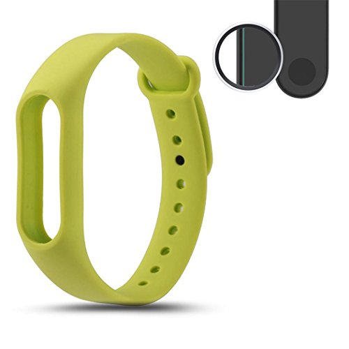 0.1mm HD Protective Film for Xiaomi Miband 2 Transparent (2PCS) - 3