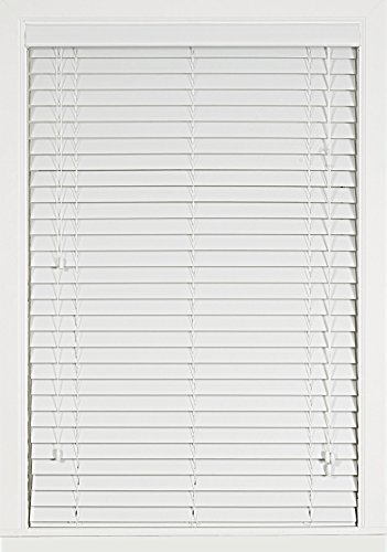 Plantation Collection Madera Falsa 2-Inch Faux Wood Blind - White - 34