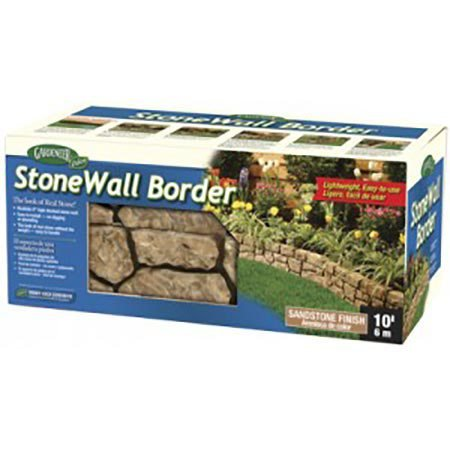 Dalen Gardeneer Stonewall Border - Tan, 10 ft.