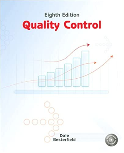 Quality control 8th edition dale h besterfield phd pe quality control 8th edition 8th edition fandeluxe Choice Image