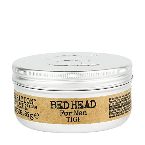 TIGI Bed Head B for Men Matte Separation Workable Wax, 3 Ounces (Styling Wax Head)