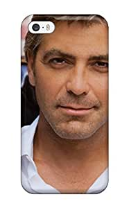 5/5s Scratch-proof Protection Case Cover For Iphone/ Hot George Clooney Phone Case by runtopwell