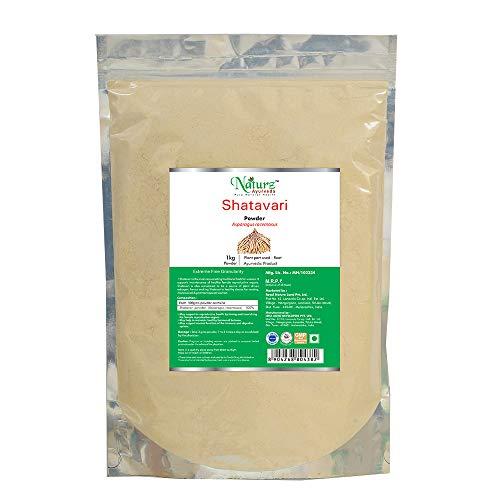 Naturz Ayurveda Shatavari Powder – 1 Kg, grey (NZA4382)