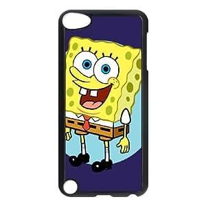 iPod Touch 5 Cell Phone Case Black Sponge Bob AFK339976