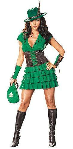 Robyn Da Hood Medium Size 6-10 Halloween or Theatre Costume -
