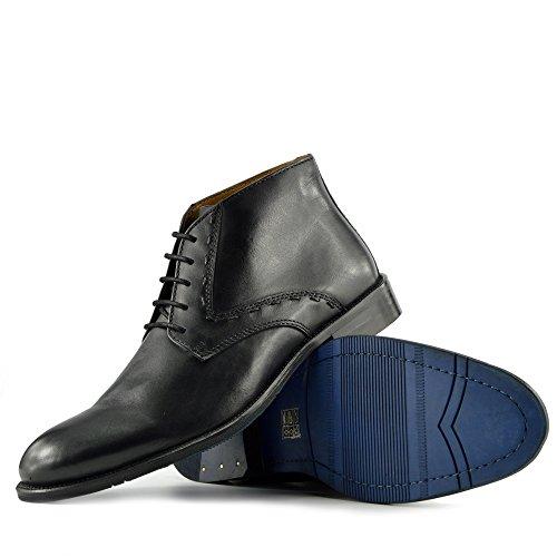 Kick Zapatos del de Ocasionales Calidad Hombre de negro Desierto Alta Footwear Para Botas Cuero HzxBHPr
