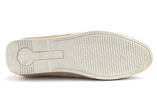 Scans Heren 66315 Lichtgewicht Instapper Loafer Schoenen Beige