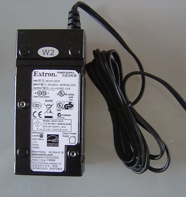 Extron Switching Power Supply AC DC Adapter Adaptor 12V 1.0A 28-071-57LF