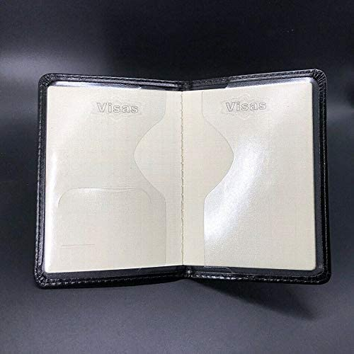 Valhalla /Étui pour passeport avec inscription en or